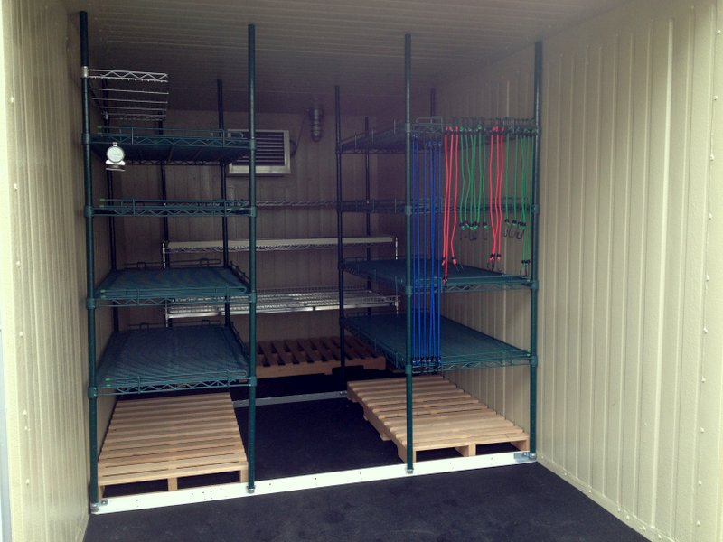 Portable Refrigerated Trailer - Interior